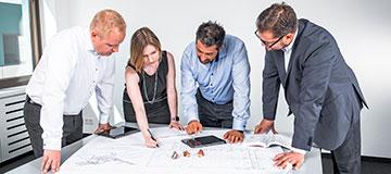 Projectmanagement en technische ondersteuning